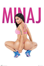 Poster - Minaj, Nicki Squat
