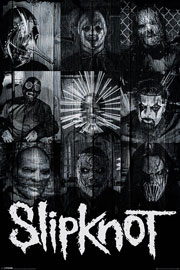 Poster - Slipknot Masks
