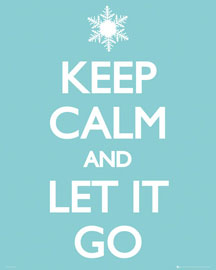 Keep Calm Let it Go
