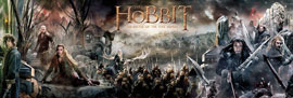 Poster - Hobbit, The BOTFA – Collage