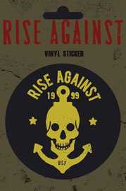 Poster - Rise Against Skull Anchor