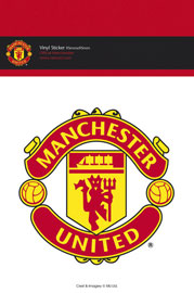 Poster - Fußball Manchester United - Club Crest