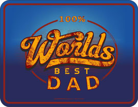 Poster - Papa Worlds Best Dad