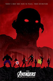 Poster - Avengers, The Age Of Ultron - Extinction