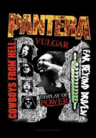 Poster - Pantera Cowboys from hell