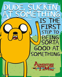 Poster - Adventure Time