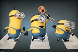 Poster - Minions Abbey Road
