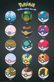 Pokemon - Pokémon Pokeballs