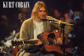 Cobain, Kurt Unplugged Guitar