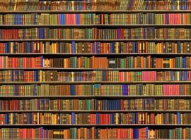 Tapete Bücherregal empireposter foto tapeten 4 teilig 315cm x 232cm