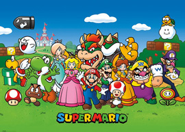 Poster - Nintendo Super Mario Group