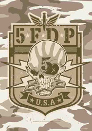 Poster - Five Finger Death Punch USA