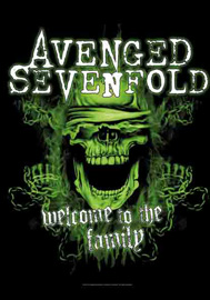 Poster - Avenged Sevenfold Welcome to the Family