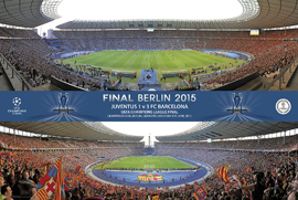 Poster - Fc Barcelona Champions Stadion