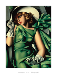 de Lempicka, Tamara Young Lady with Gloves