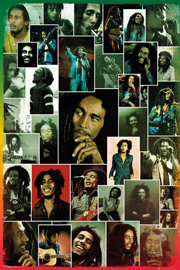 Poster - Marley, Bob Photo Collage