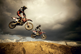 Poster - Motorcycles Motocross - Big Air