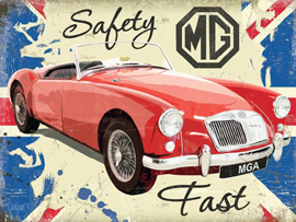 Poster - MG Safety Fast MG