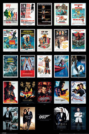 Poster - James Bond 007 Movie Posters
