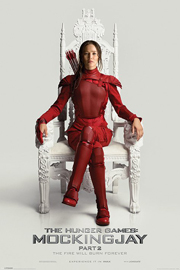 Hunger Games, The Mocking Jay Part 2 Throne