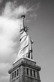 Poster - New York Freiheitsstatue Statue of liberty