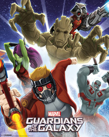 Marvel Guardians Of The Galaxy, Burst