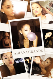 Poster - Grande, Ariana Color Selfies