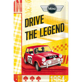 Poster - Mini Cooper Drive The Legend