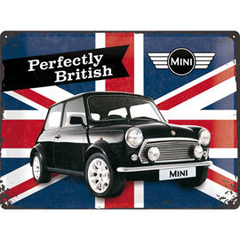 Poster - Mini Cooper Perfectly British