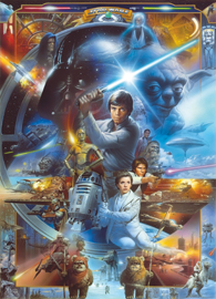Poster - Star Wars Luke Skywalker Colla