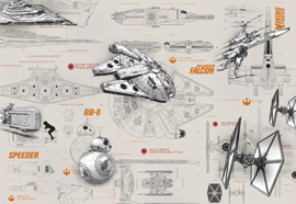 Poster - STAR WARS Blueprints Disney