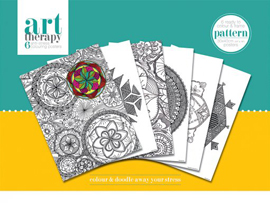 Colouring Poster Art Therapy - Pattern