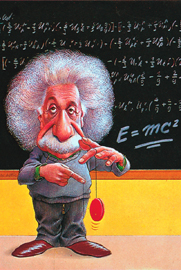 Poster - Einstein, Albert E=mc2