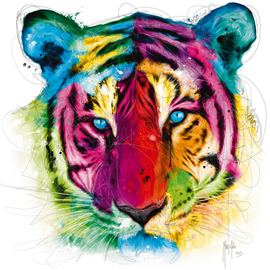 Poster - Murciano, Patrice Tiger Pop