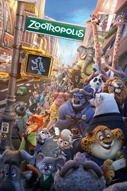 Poster - Zootropolis One Sheet
