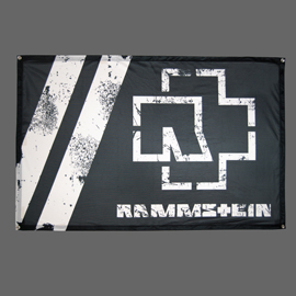 Poster - Rammstein black and white