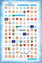 Frozen Told By Emojis