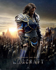 Poster - Warcraft The Alliance - Two Worlds One Home