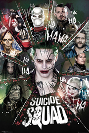 Poster - Suicide Squad Circle