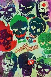 DC Comics Suicide Squad - Faces