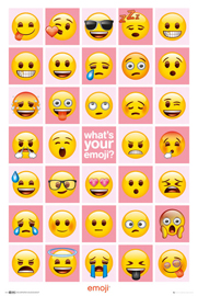 Poster - Emoji What's Your Emoji