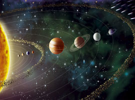 Space And Universe Planeten Foto-Tapete