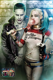 Suicide Squad Joker and Harley Quinn