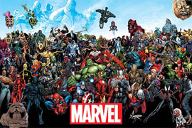 Poster - Marvel Universe