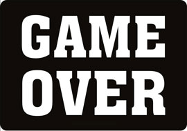 Poster - Game Over
