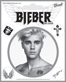 Poster - Bieber, Justin Black and White