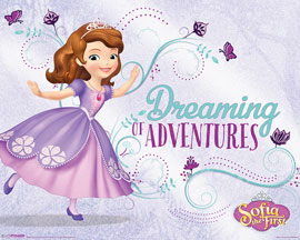 Poster - Sofia The First Dreaming