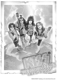 Poster - Kiss Farewell Tour