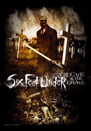 Poster - Six Feet Under Decade in the Grave
