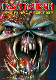 Poster - Iron Maiden Frontiers Head